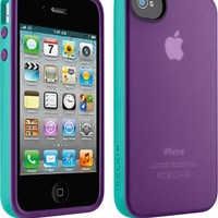 Belkin - Grip Candy Case for Apple® iPhone® 4 and iPhone 4S - Dark Teal/Green - F8Z813EBC02 - Best Buy