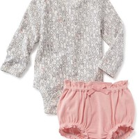 2-Piece Bunny Bodysuit & Bloomer Set for Baby   Old Navy
