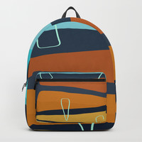 Modern minimal forms 19 Backpack by naturalcolors
