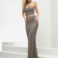 Jasz Couture 5930 Two Piece Sweetheart Prom Dress