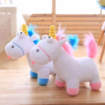 1pc 35cm Cute Unicorn Plush Toys Staffed Animal Horse Doll Christmas Present Cartoon Kids Baby Toy Birthday Gift for Children