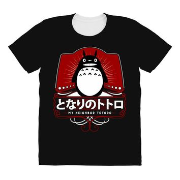 My Neighbor Totoro All Over Women's T-shirt