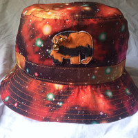 Neon Galaxy Bucket Hat