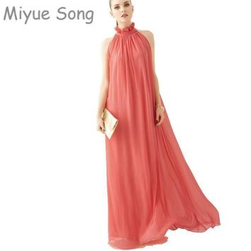 Women Chiffon Maxi Two Way Maternity Dress