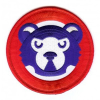 Chicago Cubs Walking Bear Sleeve Patch
