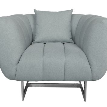 Butler Arm Chair Grey Grey