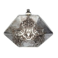 Celtic Silver Resin Minaudiere | M.C.L  | Wolf & Badger