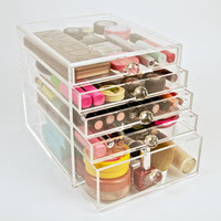 Acrylic Makeup Organizer 5 Drawer Beauty Cube