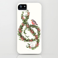 Robin's Song iPhone & iPod Case by Laura Graves