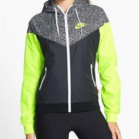Nike Women's Printed Windrunner Windbreaker Jacket