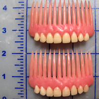Denture Hair Combs(priced per pair)