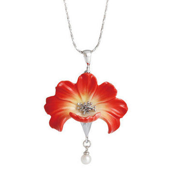 Franz Collection Cosmo Flower Necklace