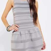 Urban Outfitters - Sparkle & Fade Pleated Drop-Waist Dress