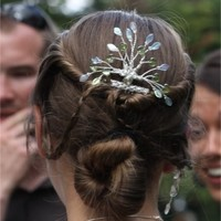 Celtic Tree of Life Elven Hair Comb