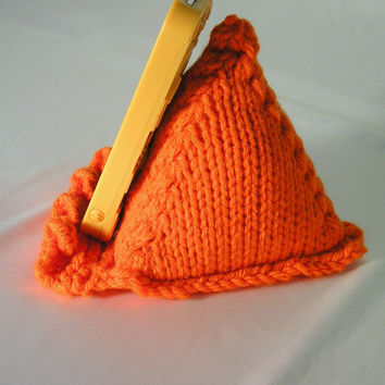 Cell Phone Knitted Pillow Prop
