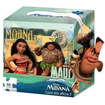 Disney Moana 46-Piece Floor Puzzle