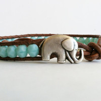 CHRISTMAS SALE Elephant Bracelet, G.. on Luulla