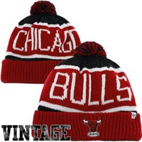 '47 Brand Chicago Bulls Hardwood Classics Calgary Knit Hat - Red
