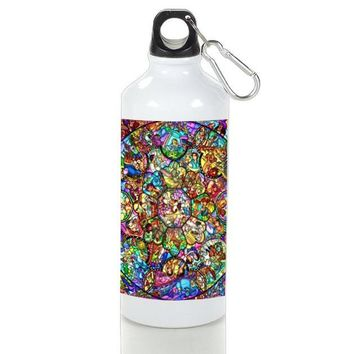 Gift Sport Bottles | All Character From Disney Stained Glasses Aluminum Sport Bottles