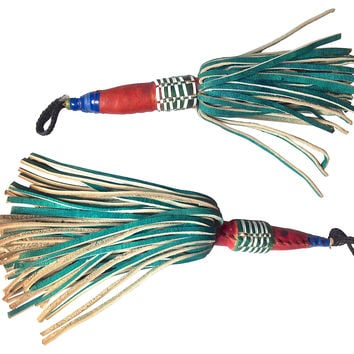 Large Tuareg Tassels, Pair