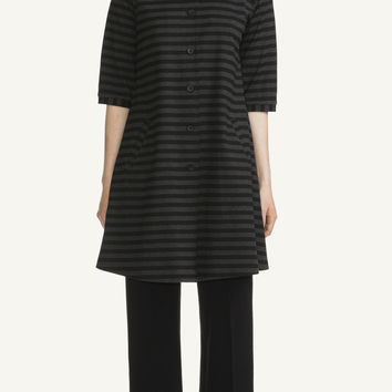 KASTE MARIMEKKO DRESS BLACK/MELANGE GREY
