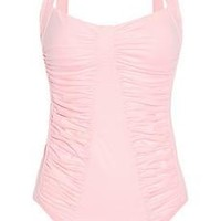 Melissa Odabash Hawaii ruched swimsuit from Net-A-Porter | Beso.com