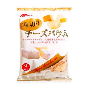 Cheese Baumkuchen, Japanese Style by Marukin, 8.2 oz (234 g)