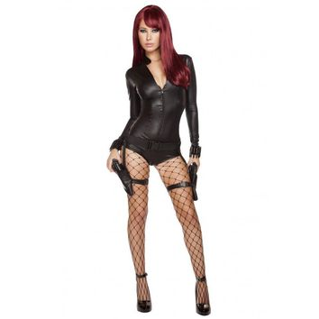 Hot Hit Woman Costume