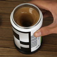 Creative Portable Cup Stainless Steel Mug [6283350726]