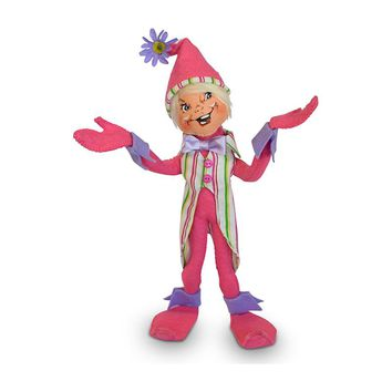 Annalee Dolls 12in 2018 Spring Pink Elf Plush New with Tags