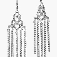 Women's John Hardy 'Classic Chain' Pave Diamond Chandelier Earrings