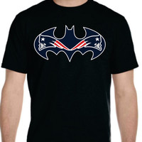 Bat Patriots t-shirt Mens Ladies  Youth New England  Boston Very Unique Design Awesome  Christmas Gift Super Hero