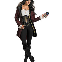 Pirates of the Caribbean Angelica Prestige Adult Womens Plus Size Costume - Spirithalloween.com