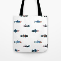 Swim With The Fishes Tote Bag by allisone
