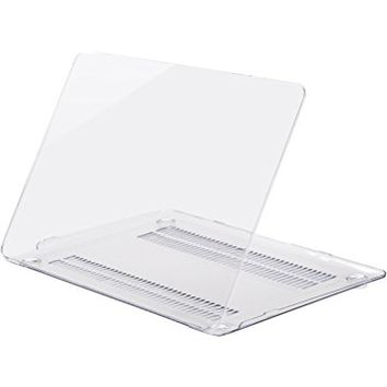"Unik Case-Retina 12 Inch Crystal Hard Case for Macbook 12"" with Retina Display A1534 Shell Cover(2015 Newest Version)-Clear"