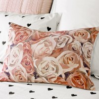 The Emily + Meritt Photo Floral Pillow Cover