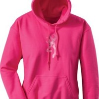 Browning Women's Breast Cancer Awareness Bling Sweatshirt