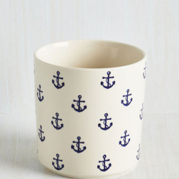 Nautical Aweigh to Go Container by ModCloth