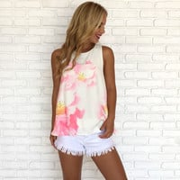 Peony Floral Blouse