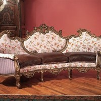 French Style Hand Carved Sofa High Style High Style Furniture