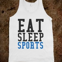 EAT SLEEP SPORTS TANK