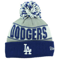 Los Angeles Dodgers MLB Rep Your Team Pom Knit