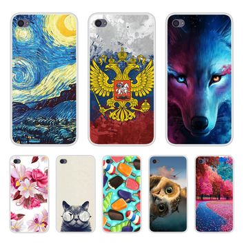 Case Cover For Lenovo S90 Soft Silicone TPU Cool Patterned Printed For Lenovo S 90 Phone Cases