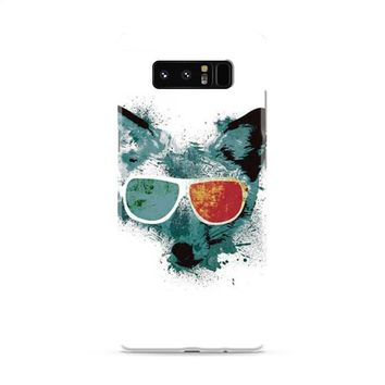 Fox 3d glasses Samsung Galaxy Note 8 Case