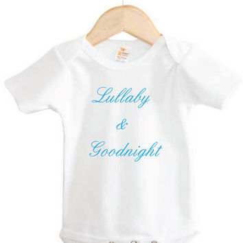Baby Onesuit // Lullaby & Goodnight Onesuit // baby lullaby // baby music // newborn Onesuit
