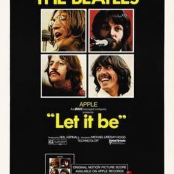 Sale! Let It Be Movie Poster 24in x36 in