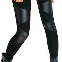 Triangle_matte leggings [Leggings,Tights,Bottoms,Pants]