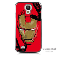 Iron man Case For Samsung Galaxy S4 + Screen Protector + Stylus