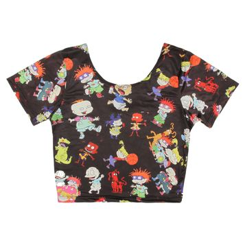 RUGRATS CROP TOP