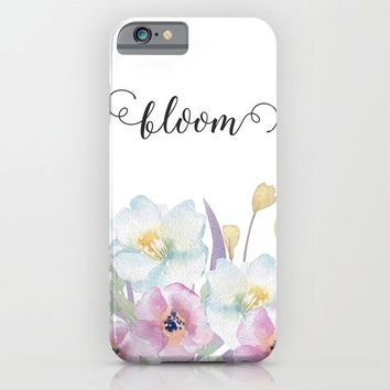 bloom iPhone & iPod Case by Sylvia Cook Photography